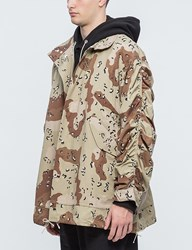 Mr.Completely Cropped Military Parka