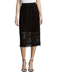 Romeo And Juliet Couture Mid Length Lace Skirt Black
