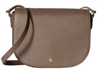 Ecco Iola Medium Saddle Bag Dark Clay Handbags Multi