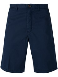 Michael Kors Collection Chino Shorts Blue
