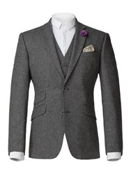 Aston And Gunn Arrow Heritage Donegal Jacket Grey