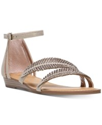 Carlos By Carlos Santana Tempo Embellished Two Piece Sandals Women's Shoes Kork