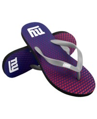 Forever Collectibles New York Giants High End Flip Flops Blue