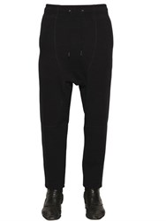 Tom Rebl Baggy Cotton Blend Jogging Pants