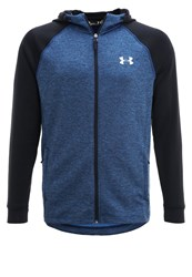 Under Armour Tracksuit Top Blue Marker Blackout Navy Silver