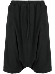 Unconditional Cropped Harem Trousers Black