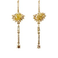 Sharon Khazzam Women's Fossie Drop Earrings No Color