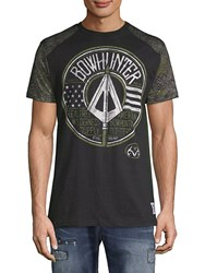 Affliction Rt Bowhunter Short Sleeve Cotton Tee Black