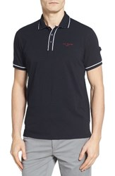 Ted Baker Men's London Playgo Piped Trim Golf Polo