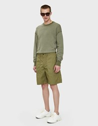 Our Legacy Army Shorts In Olive Tactic Twill