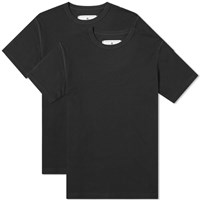 Reigning Champ Jersey Knit Tee 2 Pack Black