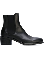 Diesel Black Gold Elasticated Panel Ankle Boots