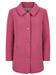 Eastex Pipe Pocket Raincoat Fuchsia
