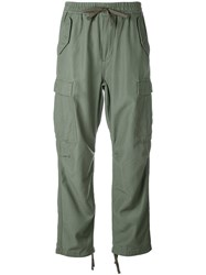 Carhartt Drawstring Cargo Trousers Women Cotton Polyester M Green