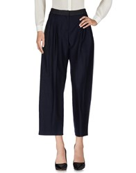 Andrea Pompilio Casual Pants Dark Blue