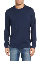 Velvet By Graham And Spencer Men's General Luxe Fleece Sweatshirt
