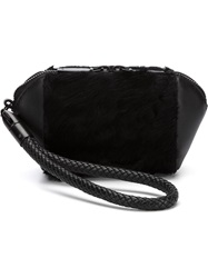 Alexander Wang 'Chastity' Clutch Black
