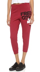 Freecity Heather Swami 3 4 Sweatpants