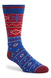 Men's The Rail Fair Isle Socks 3 For 25