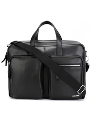 Diesel 'Crash' Briefcase Grey