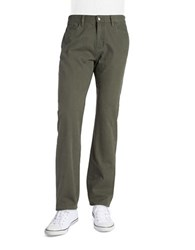 Weatherproof Straight Leg Jeans Green