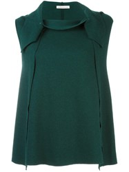 Stefano Mortari Knitted Vest Green