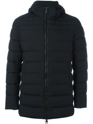 Herno Zipped Padded Jacket Black