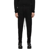 The Viridi Anne Black Fleece Lounge Pants