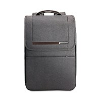 Briggs And Riley Kinzie Street Flapover Expandable Backpack Grey