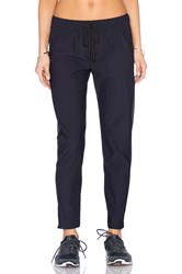 Solow Athletic Cut Out Track Pant Black