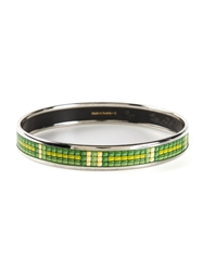 Hermes Vintage Bangle Bracelet Green