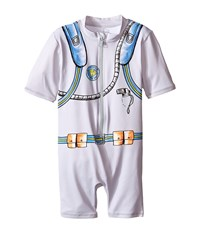 Stella Mccartney Sonny Scuba Swimsuit Infant Gray Men's Swimsuits One Piece