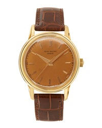 Goodman's Vintage Watches Patek Philippe 18K Yellow Gold Round Dress Watch C. 1955 1960
