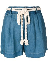 Polo Ralph Lauren Rope Tie Shorts Blue