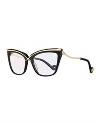 Anna Karin Karlsson Lusciousness Divine Cat Eye Optical Frames Black