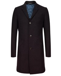 Ted Baker Gains Wool Ombre Overcoat Grey