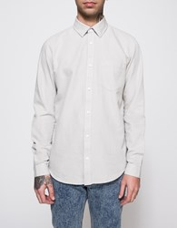 Cheap Monday Bolt Oxford Shirt Cloud Grey
