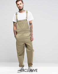 Reclaimed Vintage Dungarees Stone
