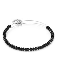Alex And Ani Eclipse Brilliance Bead Expandable Wire Bangle Black