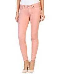 Paige Verdugo Ankle Faded Jeans Petal Pink