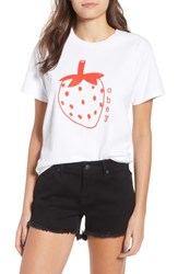 Obey Lo Fi Strawberry Graphic Tee