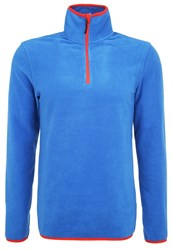 Your Turn Active Fleece Jumper Strong Blue Royal Blue
