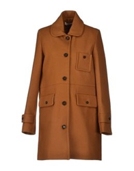 Sessun Coats Rust