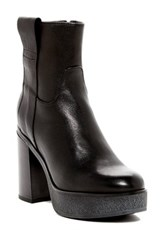 Manas Design High Platform Boot Black