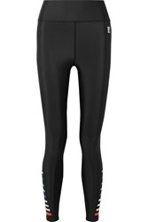 P.E Nation Resurgence Printed Stretch Leggings Black