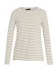 Max Mara Occhio T Shirt Grey Stripe