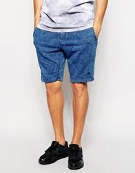 Antioch Shorts In Acid Wash Blue