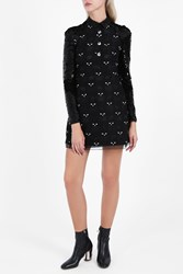 Giamba Cat Dress Black
