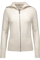 Etoile Isabel Marant Leane Wool And Alpaca Blend Cardigan Cream