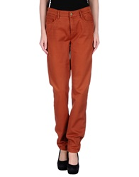 Cambio Casual Pants Rust